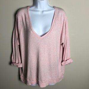 Aritzia TNA Pink Shirt Size L